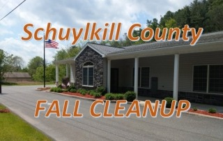 Schuylkill County Fall Cleanup